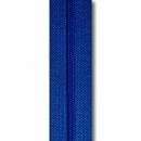 Reißverschluss royalblau, Meterware ohne Schieber