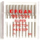 10 Stück Nähmaschinennadeln, Superstretch