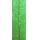 Reißverschluss lindgrün, Meterware ohne Schieber