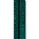 Reißverschluss dunkelgrün, Meterware ohne Schieber