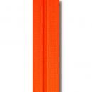 Reißverschluss neonorange,  Meterware ohne Schieber