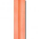 Reißverschluss lachsfarben, Meterware ohne Schieber
