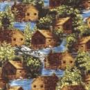 Blockhütten am Loon