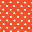 Basic weiße Dots auf orange