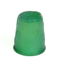 Gummifingerhut,dunkelgrün, Candy Thimble