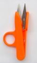 Ringfingerschere,oranger Griff