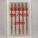 5er Pack Nähmaschinennadeln Jersey, 80
