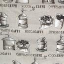 Caffe, Taschenstoff im Leinencharakter