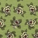 Rosen auf hellgrünem Hintergrund