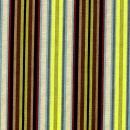 Streifenbasic, ecru mit gelb und Brauntönen