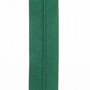 Reißverschluss grasgrün, Meterware ohne Schieber