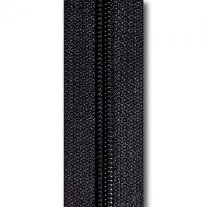 Reißverschluss schwarz, Meterware ohne Schieber