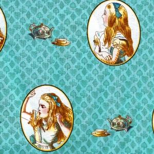 Alice im Wunderland, Medaillonbilder