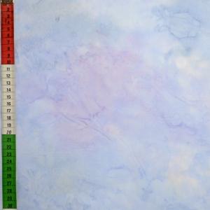 Hellblauer Batik, marmoriert
