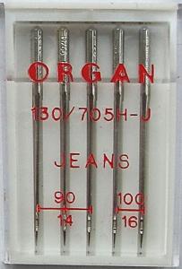 5er Nähmaschinennadeln Jeans 5er Pack