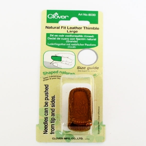 Lederfingerhut Fingerform,Large, Clover