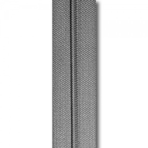 Reißverschluss kieselgrau, Meterware ohne Schieber