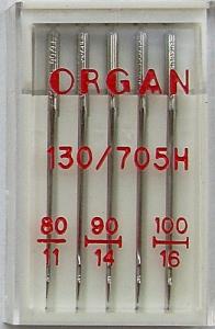 5er Pack Nähmaschinennadeln Universal 80-90-100
