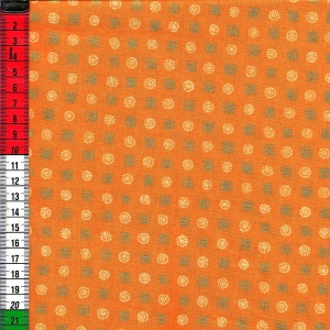 Basic orange mit Golddruck